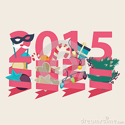 2015 New Year card design