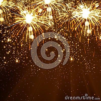 Free New Year Celebration Background Royalty Free Stock Photo - 34453045