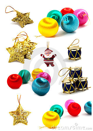 New Year and Christmas set for your art-design
