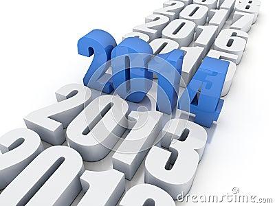 New year 2014
