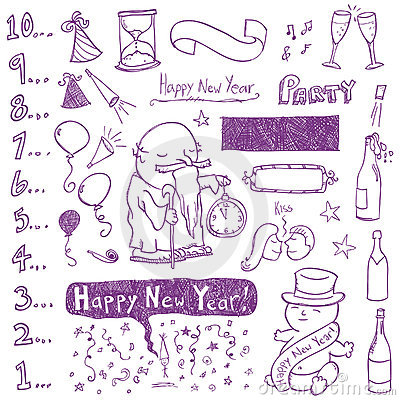 New Year Doodles