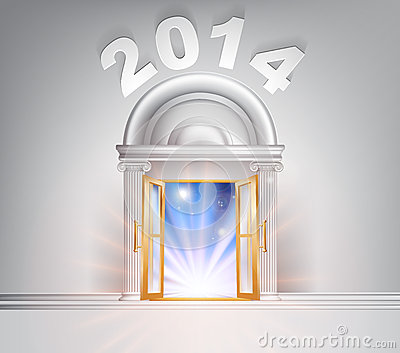 New Year Door 2014