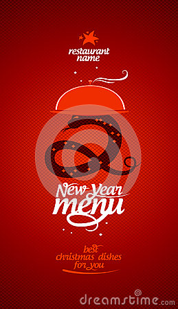New Year menu.