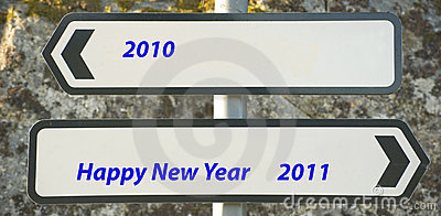 New year message.