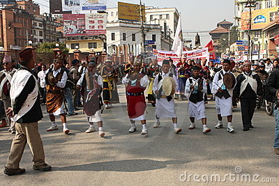 New Year in Nepal Editorial Photography