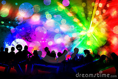 new year new year event in disco club