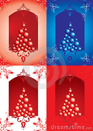 New Year s or Christmas backgrounds