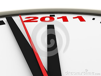 New Year s clock