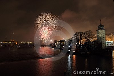 New Year s eve in Prague