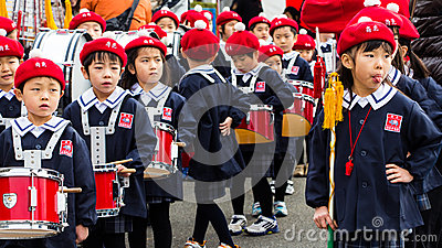 The New Year s Fire Review Kanagawa, Japan Editorial Photography