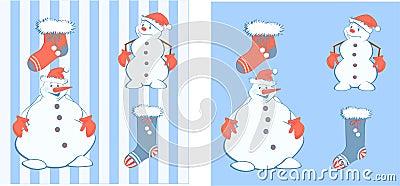New year s snowmen
