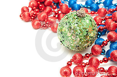 New Year's Sphere Stock Photos - Image: 22200613