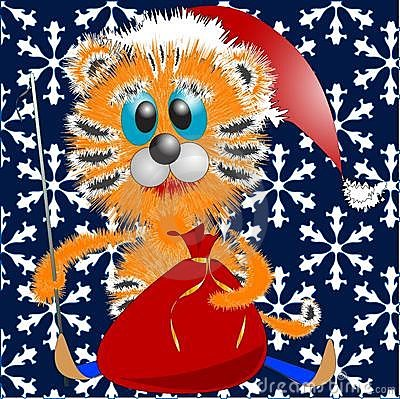 New year s tigress