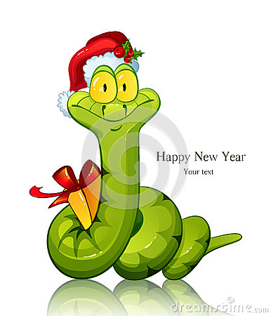 Free New Year Snake Stock Photography - 27532052