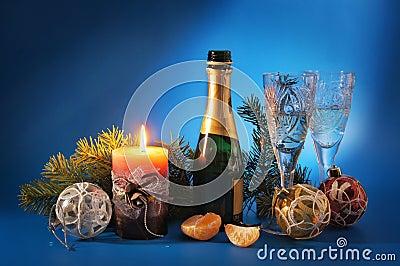 New Year still life