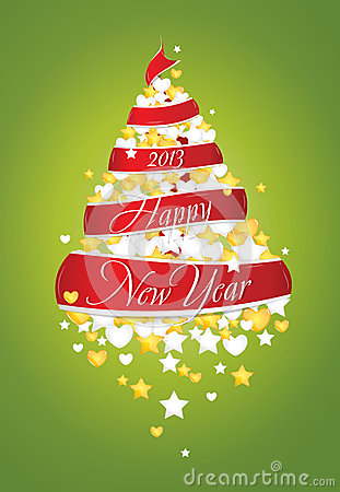 New Year tree 2013