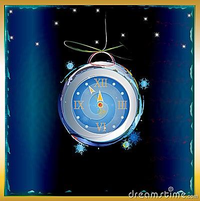 New Years clock
