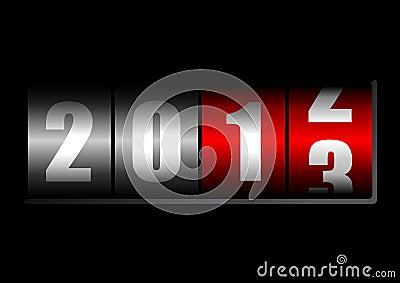 New years counter
