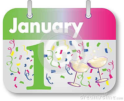 New Years Day Calendar Date
