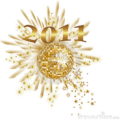 Free New Years Eve - 2011 Royalty Free Stock Images - 17105859