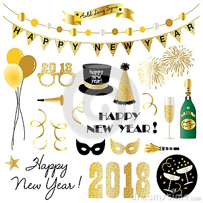 Free New Years Eve Clipart Stock Photography - 99375902