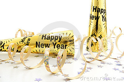 New Years Eve party noisemakers
