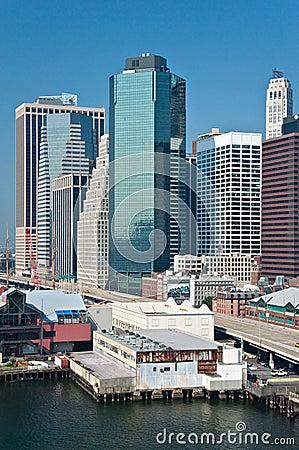 район города финансовохозяйственное New York
