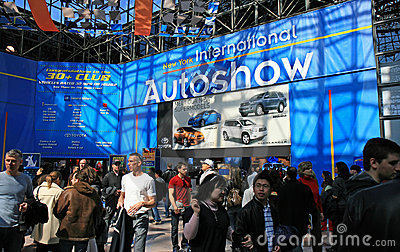 New York 2008 International Auto Show Editorial Photography