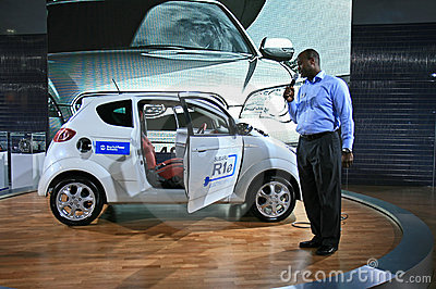 New York 2008 International Auto Show Editorial Stock Photo