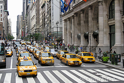 New York 5th Avenue Editorial Photography