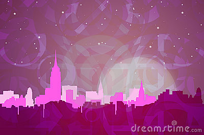 New York Abstract Colors