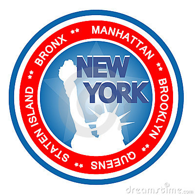 New York badge