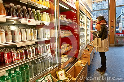 Pret a Manger Editorial Stock Photo