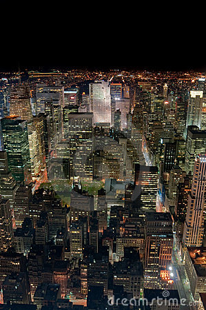 Free New York City At Night Stock Photos - 10391363