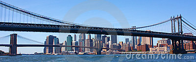 New York City Bridges Panorama