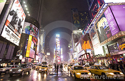 New York  city ,Broadway Editorial Stock Image