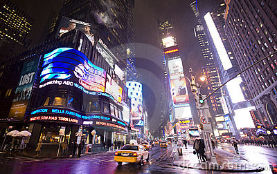 New York  city ,Broadway Editorial Stock Photo