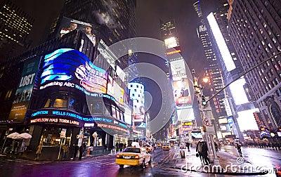 New York  city ,Broadway Editorial Stock Photo
