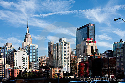 New York City Buildings Editorial Stock Image
