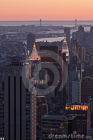 New York City Buildings Editorial Photography