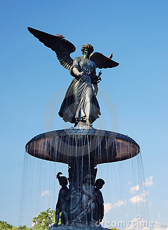 New York City Central Park Angel of the Waters