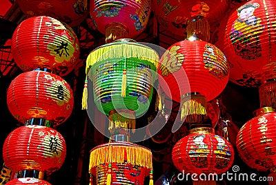 New York City: Chinese Paper Lanterns
