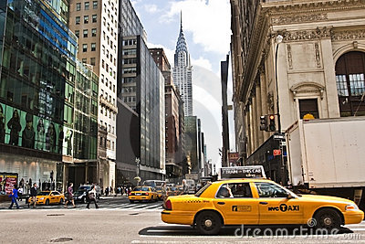 New York City Chrysler Building Editorial Photography