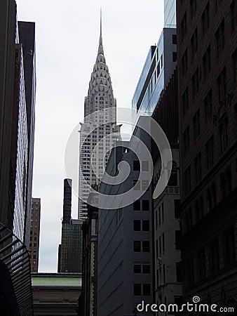New York City Chrysler Building Editorial Photo