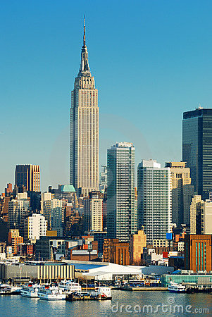 Free New York City Empire State Building Stock Images - 12688444