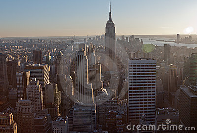 New York City and Empire State Building Editorial Photography