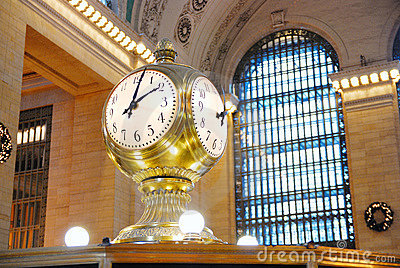 New York City Grand Central Clock