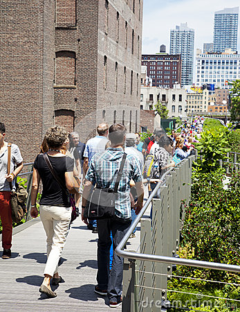 New York City High Line Editorial Image