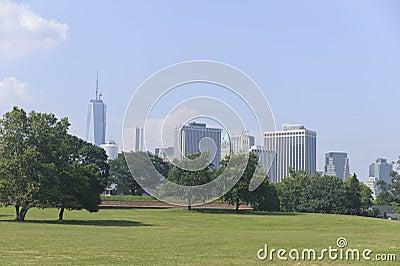 New York City horisont