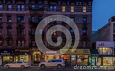 New York City, Lexington Avenue Editorial Stock Photo